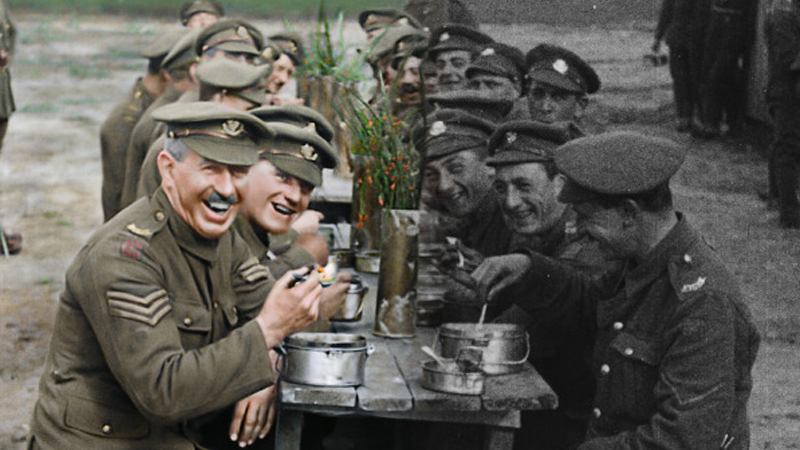 Peter Jackson's WWI documentary