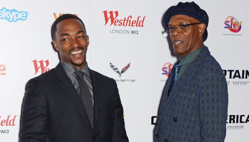 Samuel L. Jackson and Anthony Mackie Reunite On The Banker