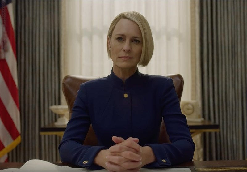 Claire Underwood strikes fear in House of Cards trailer
