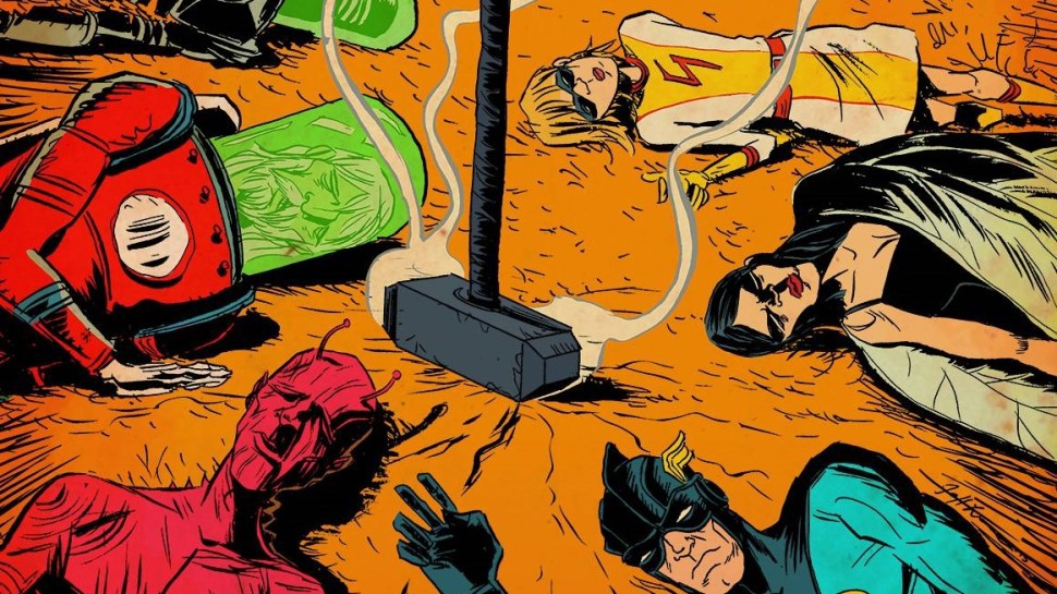 Legendary Developing Black Hammer Comic Series for Film & TV