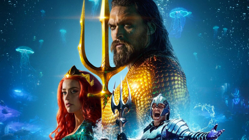 Chinese trailer and poster for Aquaman