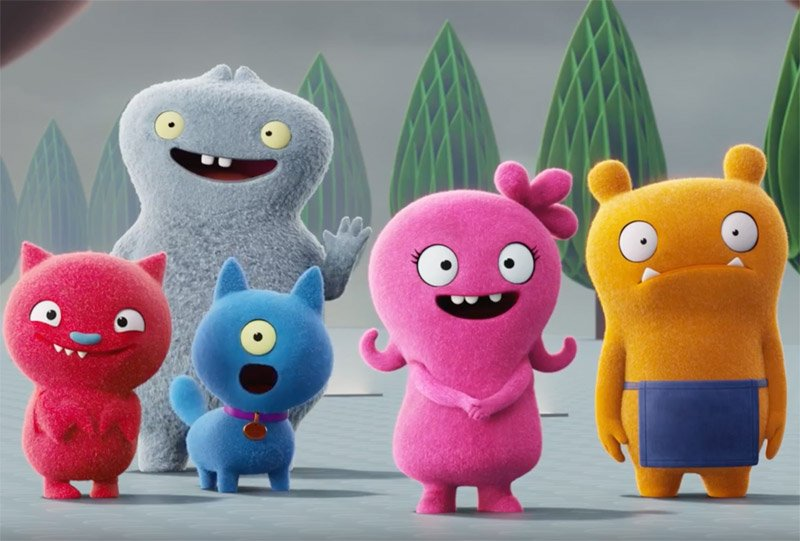 UglyDolls Trailer Brings the Plush Toys to Life