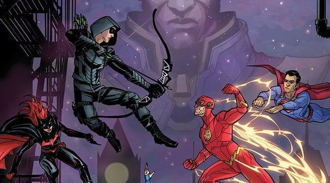 The CW's Elseworlds Crossover Gets a Comic Book-Styled Poster