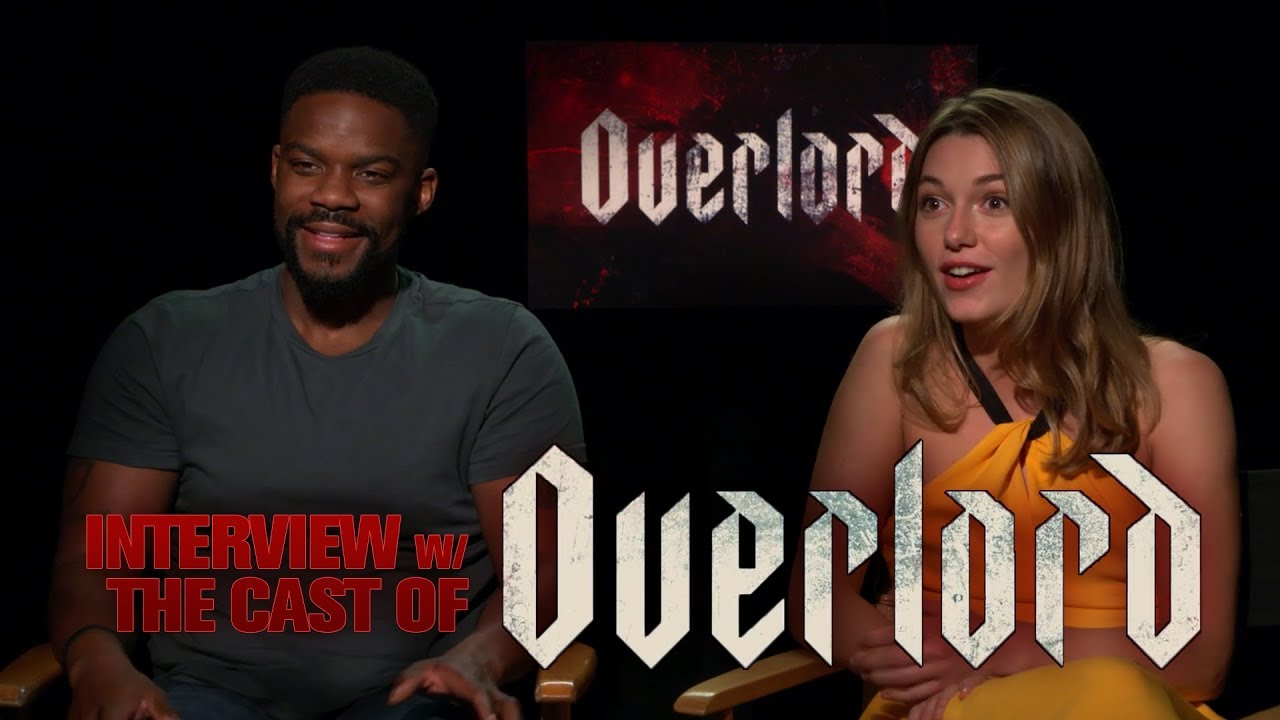 CS Video: Jovan Adepo & Mathilde Ollivier Talk Overlord Film