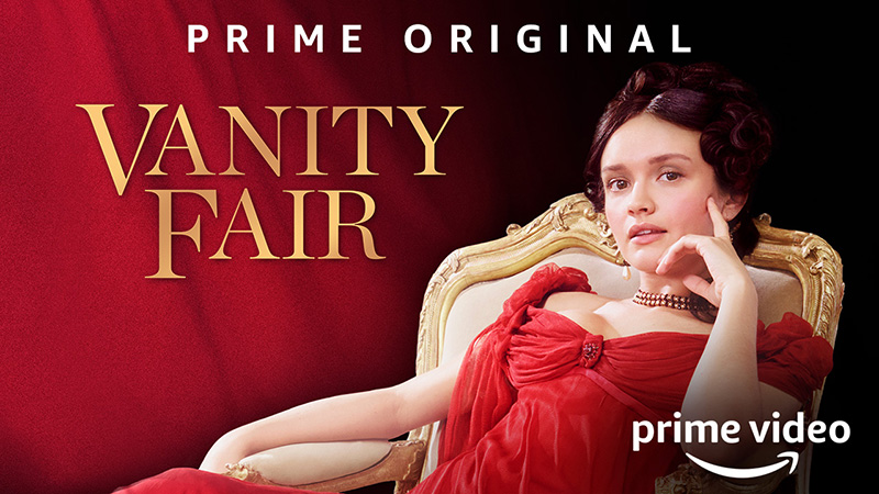 Olivia Cooke Stars in Amazon's Vanity Fair Television Adaptation