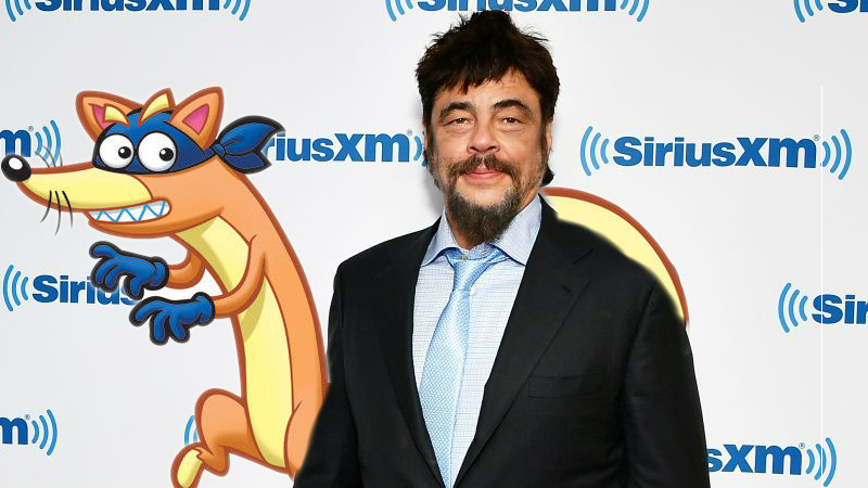 Benicio del Toro Joins Dora the Explorer