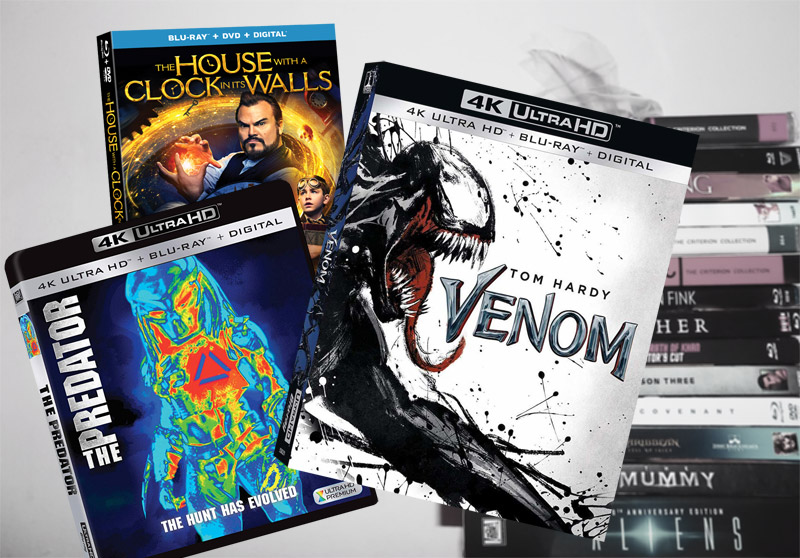 December 18 Blu-ray, Digital and DVD Releases