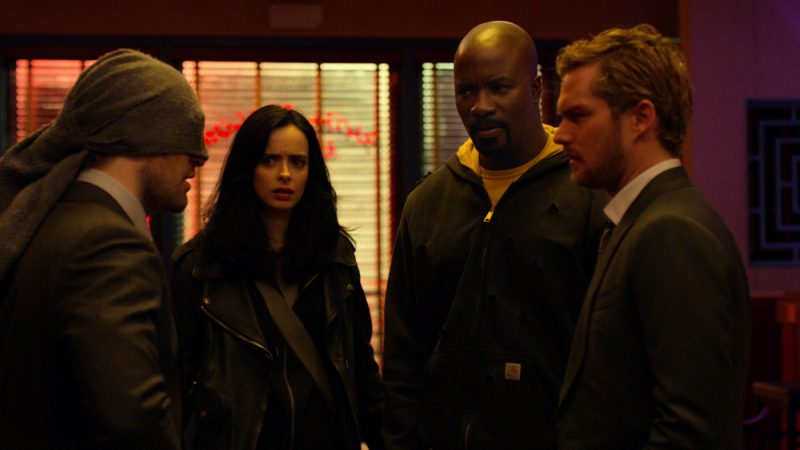 The Defenders can't appear on TV or film