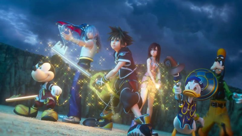 Kingdom Hearts 3 opening movie trailer features new theme song
