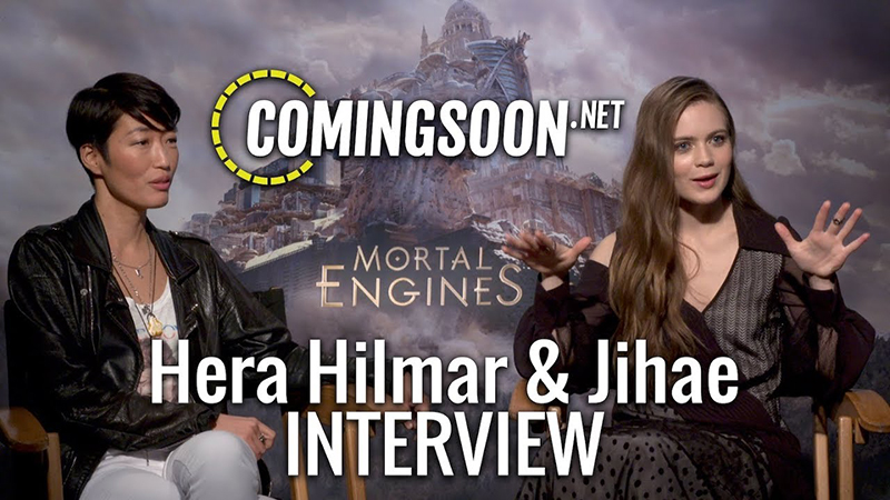 CS Video: Hera Hilmar and Jihae Talk Mortal Engines Film