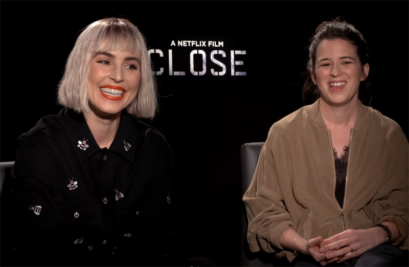 CS Video: Noomi Rapace & Vicky Jewson on Netflix's Close