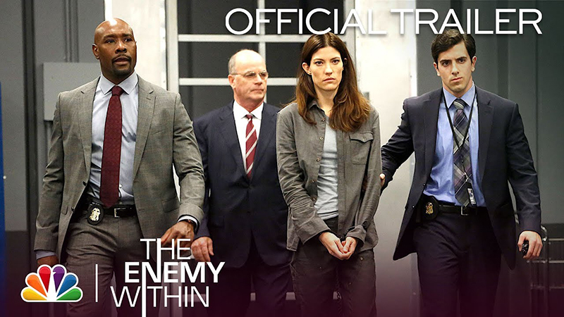 The Enemy Within Trailer: Jennifer Carpenter & Morris Chestnut Star in the NBC Drama
