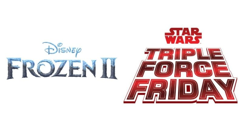 Disney Announces Star Wars Triple Force Friday, Frozen 2 Product Launch