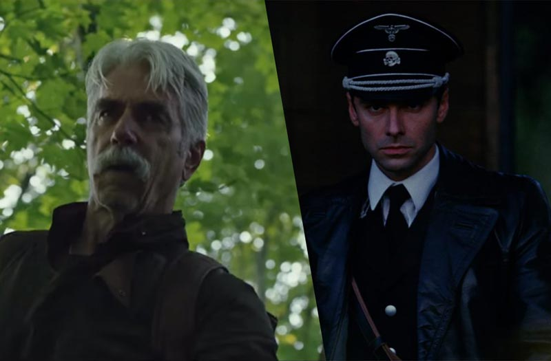 Sam Elliott & Aidan Turner on The Man Who Killed Hitler and Then the Bigfoot