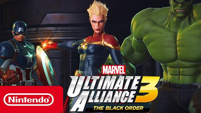 Marvel Ultimate Alliance 3: The Black Order Trailer Includes Captain Marvel