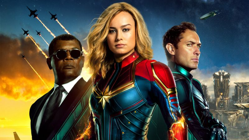 New Captain Marvel International Poster Features Starforce Team