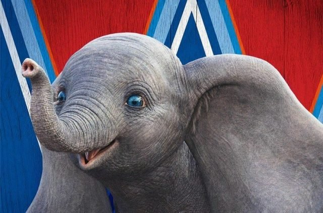 New Dumbo Poster Reveals a Happy Flying Elephant