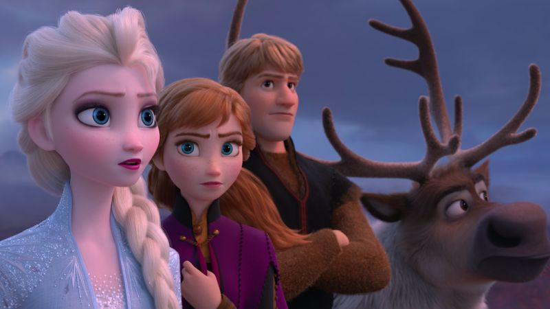 Watch Elsa ride icy waves in first Frozen 2 trailer