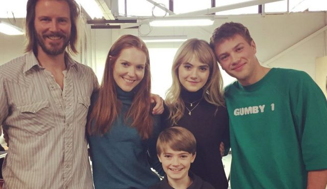 Meet the Locke Family in New Locke & Key BTS Photo