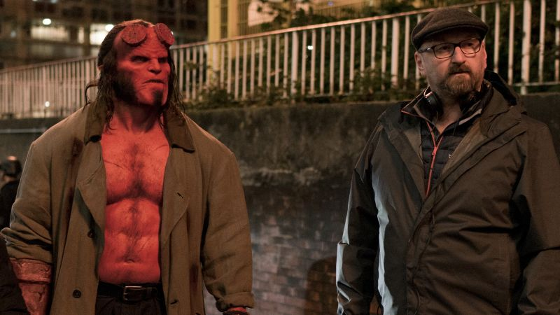 From the Set: Harbour & Marshall Open Up About Their Gnarly Hellboy Reboot