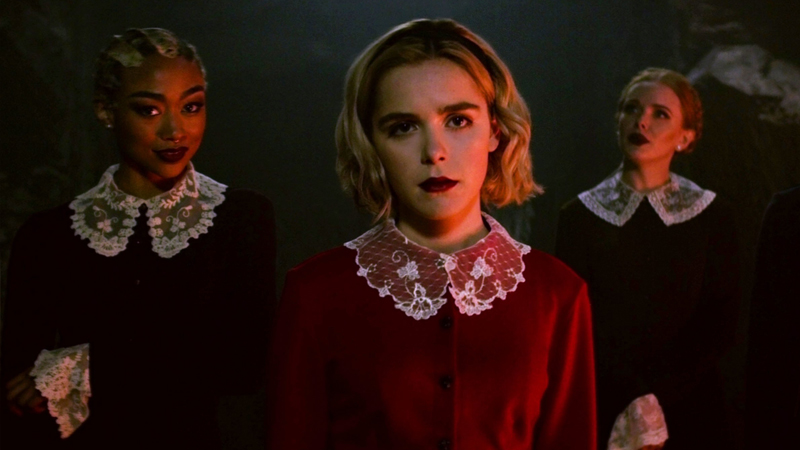 new Chilling Adventures of Sabrina trailer