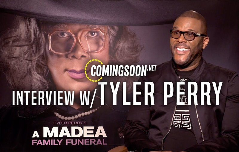 CS Video: Tyler Perry Talks A Madea Family Funeral