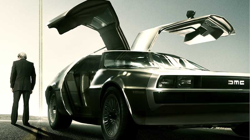Framing John DeLorean Poster: The Automaker's Rise & Fall from Grace