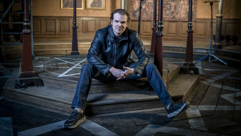How I Taught David Harbour Something About Hellboy