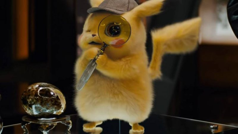 Detective Pikachu with four new TV spots