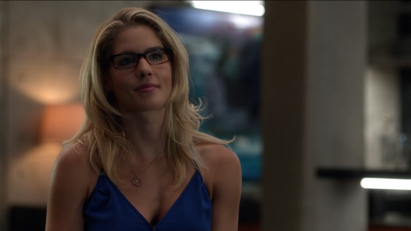 Arrow star Emily Bett Rickards