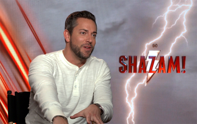 CS Video: Zachary Levi and the Shazam! Cast