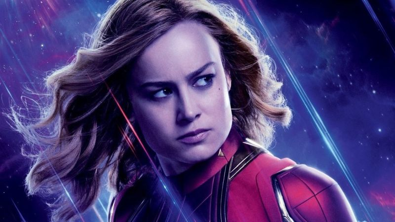 Captain Marvel Catches Up on Life Since the '90s in Audi Promo for Endgame