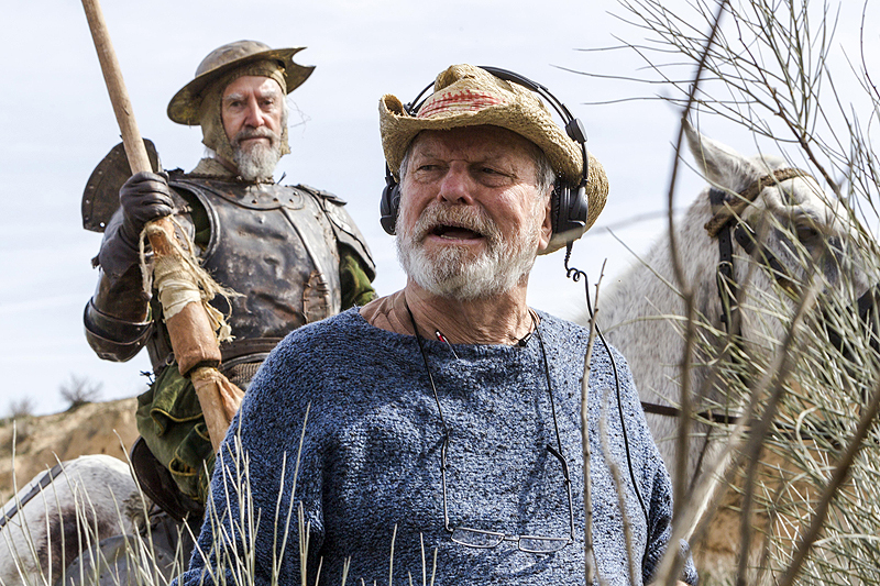 CS Interview: Terry Gilliam on The Man Who Killed Don Quixote & More!
