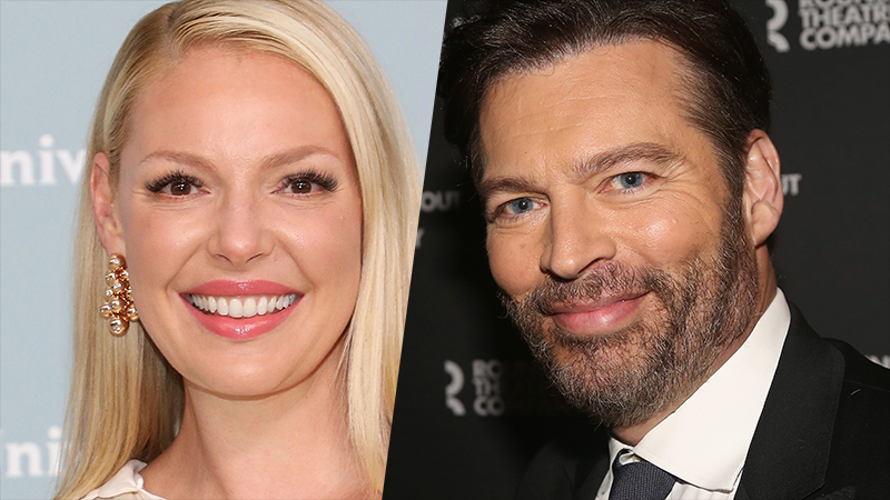 I Saw a Man With Yellow Eyes Taps Katherine Heigl & Harry Connick Jr.