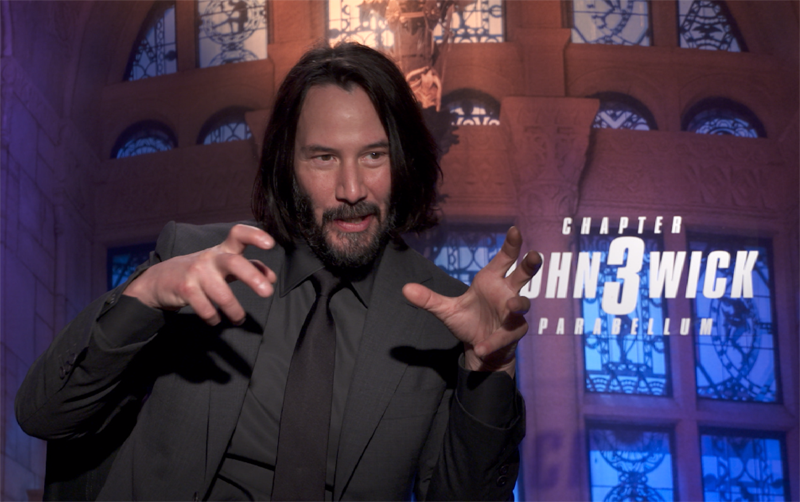 CS Video: Keanu Reeves and the John Wick 3 Cast!