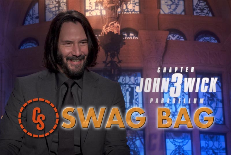 CS Swag Bag With Keanu Reeves & the John Wick 3 Cast!