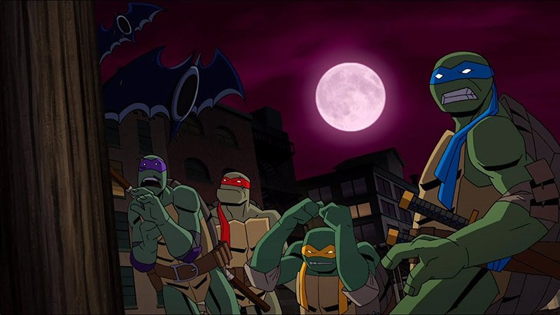 Batman vs. Teenage Mutant Ninja Turtles Opening Scene Released