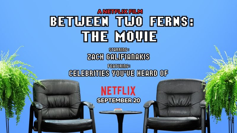 Between Two Ferns: The Movie Lands September Release Date!