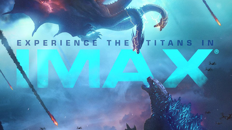 Experience the Titans in New King of the Monsters IMAX Poster