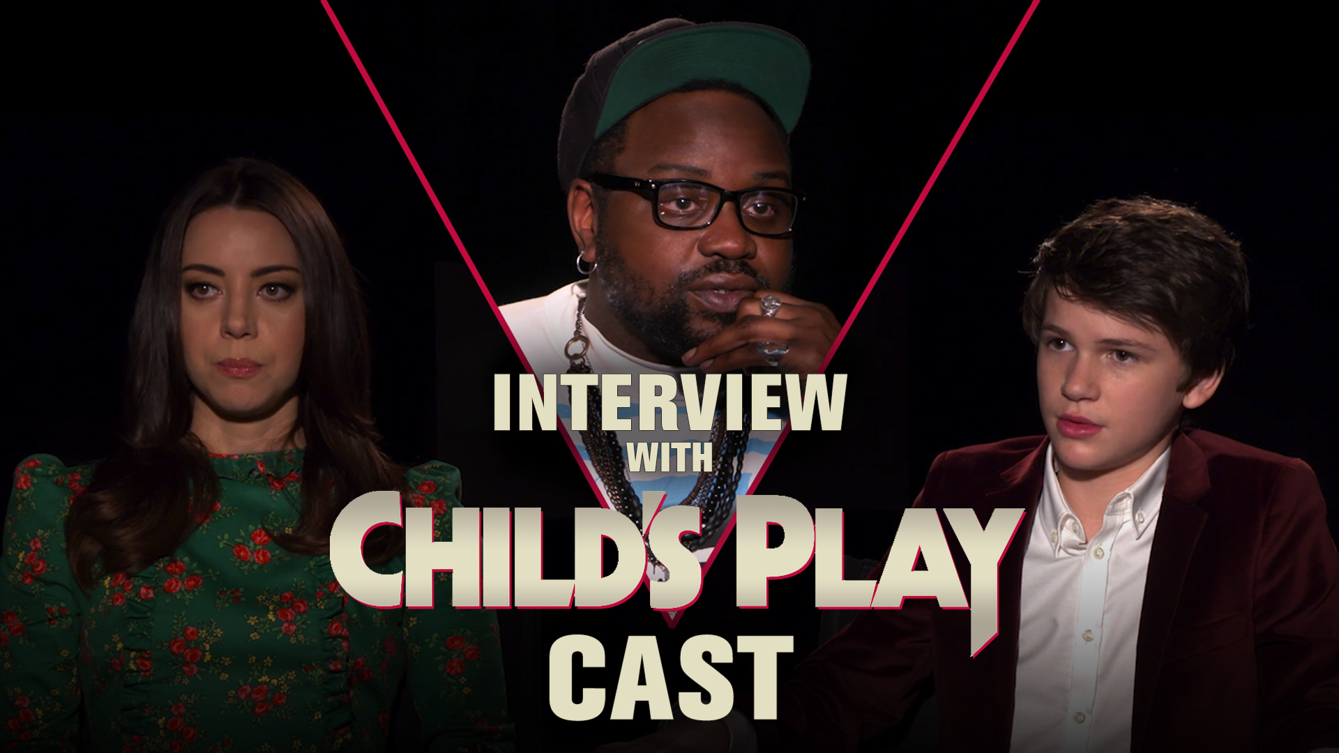 CS Video: Aubrey Plaza, Brian Tyree Henry & Gabriel Bateman on Child's Play