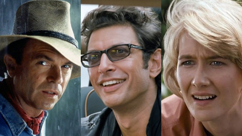 Neill, Dern, Goldblum Confirmed to Return for Jurassic World 3!