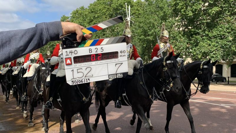 Bond 25 filming on streets of London