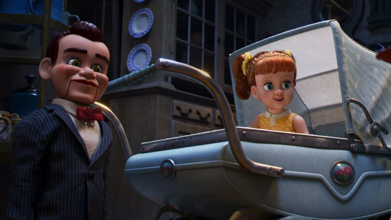 Christina Hendricks' Obsession with Ventriloquist Dummies Prepared Her for Toy Story 4