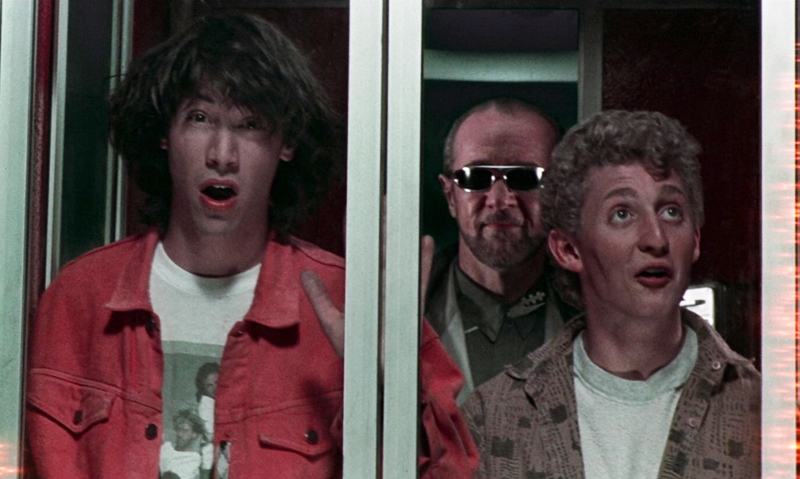 No Way! Bill & Ted Return In Behind-the-Scenes Photos
