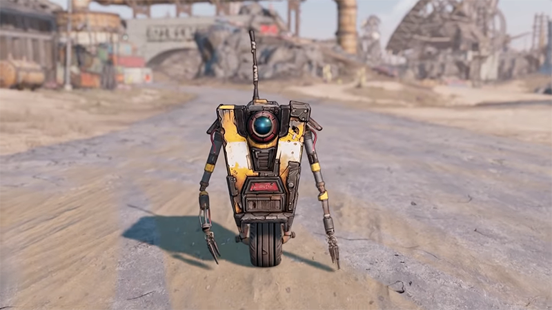 Claptrap Welcomes You to the World of Pandora in Borderlands 3 Trailer