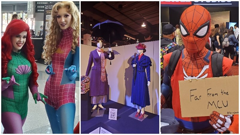 D23 Cosplay and Show Floor Photos!