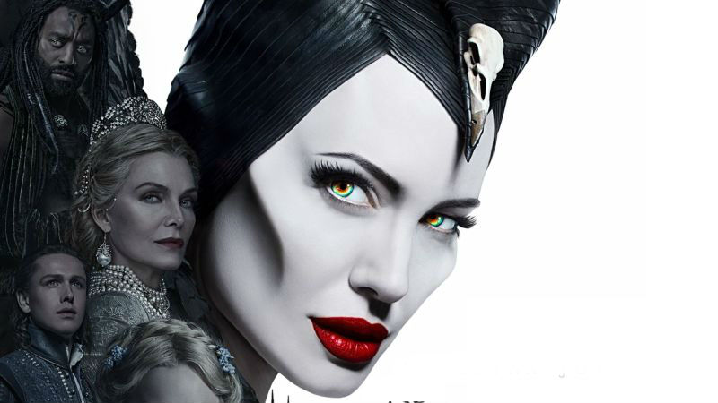 Meet The Mistress Of Evil In New Maleficent Sequel Poster