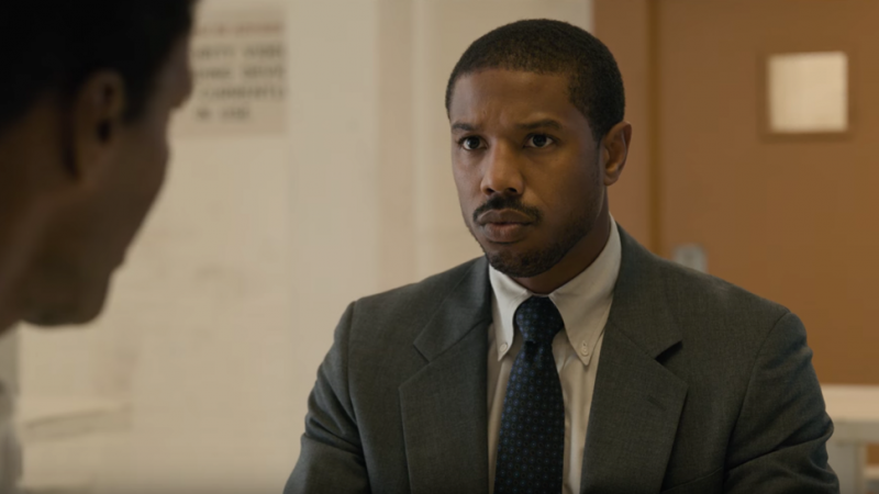 Michael B. Jordan Fights for Justice in the Just Mercy Trailer