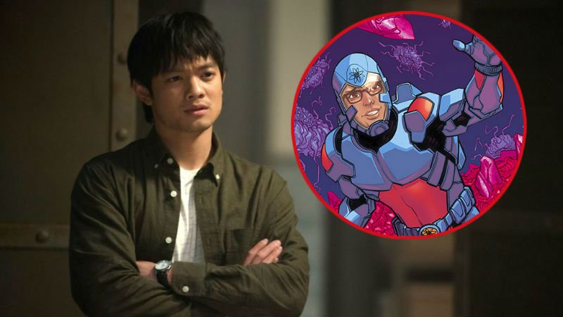 Supernatural's Osric Chau Joins Crisis Crossover as the New Atom