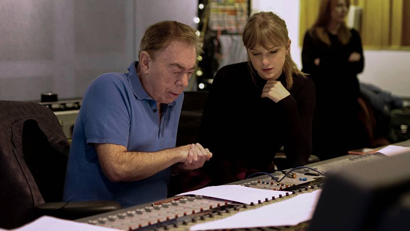 Taylor Swift, Andrew Lloyd Webber write new 'Cats' song for musical film